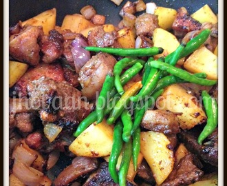 Recipe : Assamese Style Pork Fry