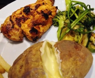 Grilled Chicken Peri Peri