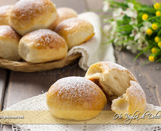 Brioches allo yogurt soffici
