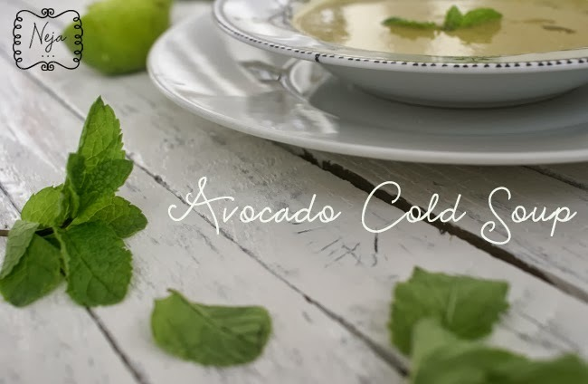 Avocado Cold Soup
