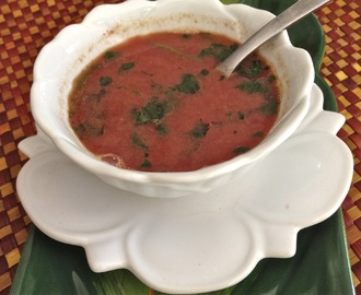 Cherry Rasam (South Indian Soup)