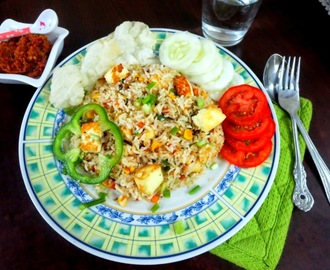 Indonesian Nasi Goreng | How to make Indonesian Fried Rice ~ I for Indonesia