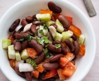 Rajma Salad | Kidney Bean Salad