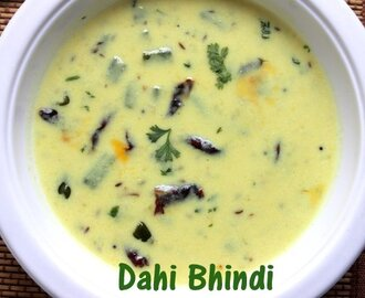 Dahi bhindi recipe – How to make dahi bhindi recipe- Indian curries