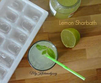 Lemon Sharbath/Instant Lemonade/Avoid Caned Juice