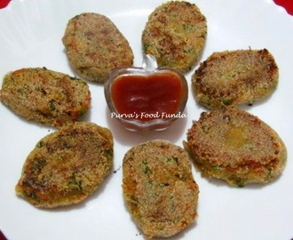 Sweet Potato and Carrot Cutlet