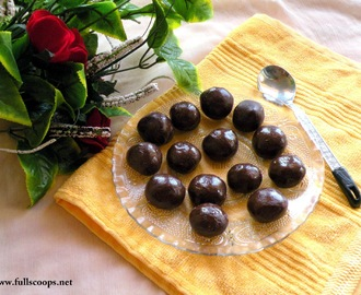 Marie Biscuit Chocolate Balls Recipe