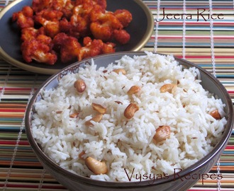Jeera Rice Recipe  - Jeera Pulao - Cumin Rice