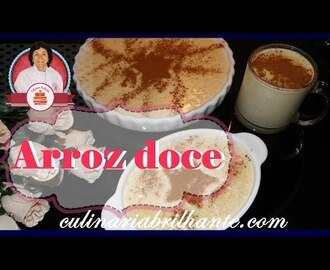 Arroz doce - Sweet pudding rice
