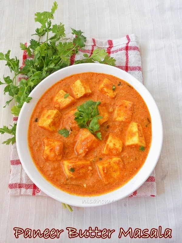 Paneer Butter Masala Recipe (Restaurant Style) Step by Step