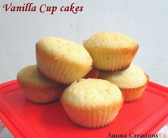 HOW TO MAKE BASIC VANILLA CUP CAKE