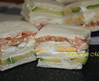 SANDWICHES TRIPLES PERUANOS