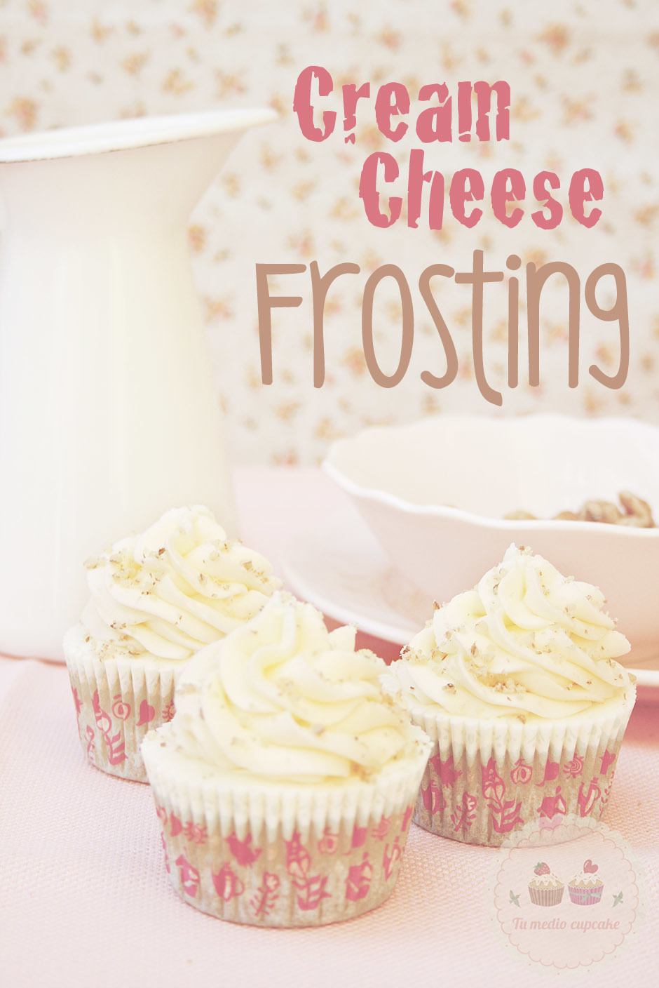 Cream Cheese Frosting perfecto para decorar!
