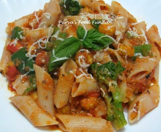 Tomato pasta With Vegetables