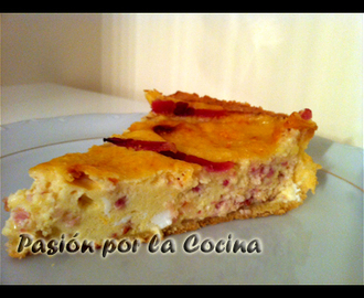 QUICHE RÁPIDA (THERMOMIX)
