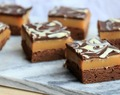 Caramel Shortbread Brownies