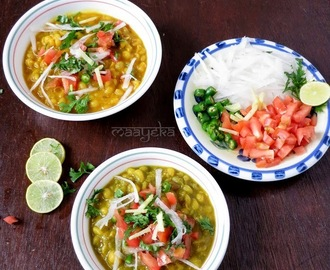 Ghughni / Matar Chaat / Dried Peas Potage