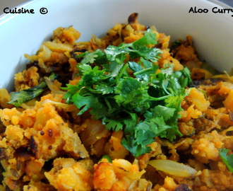 Aloo Curry (Dry) – South Indian Style