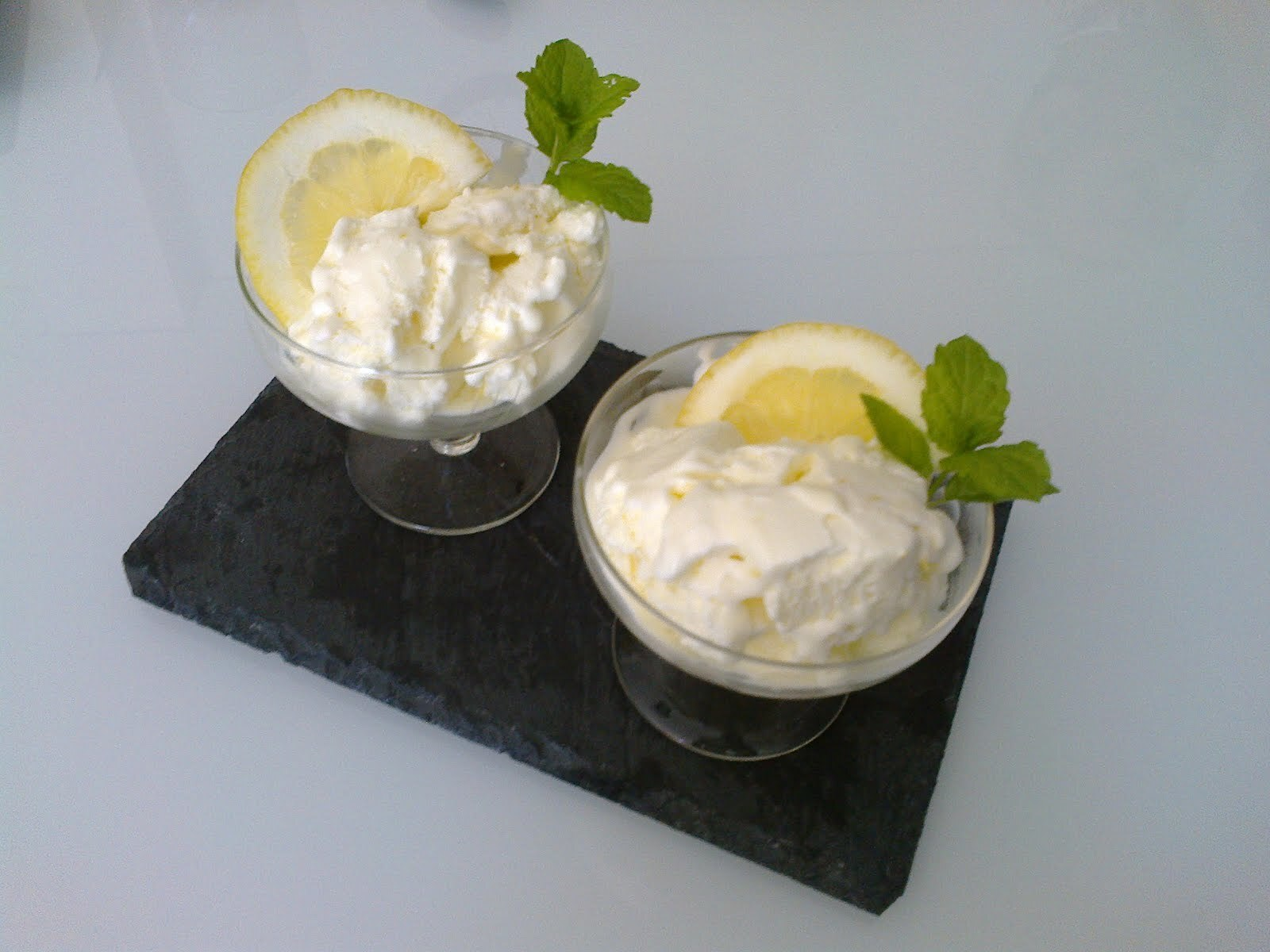 Gelado de limão /Lemon ice cream
