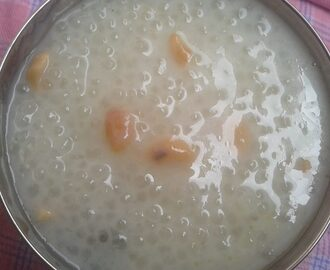 sabudana payasam recipe, how to make sabudana payasam, sabudana kheer