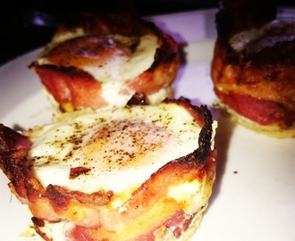 Bacon og Egg muffin