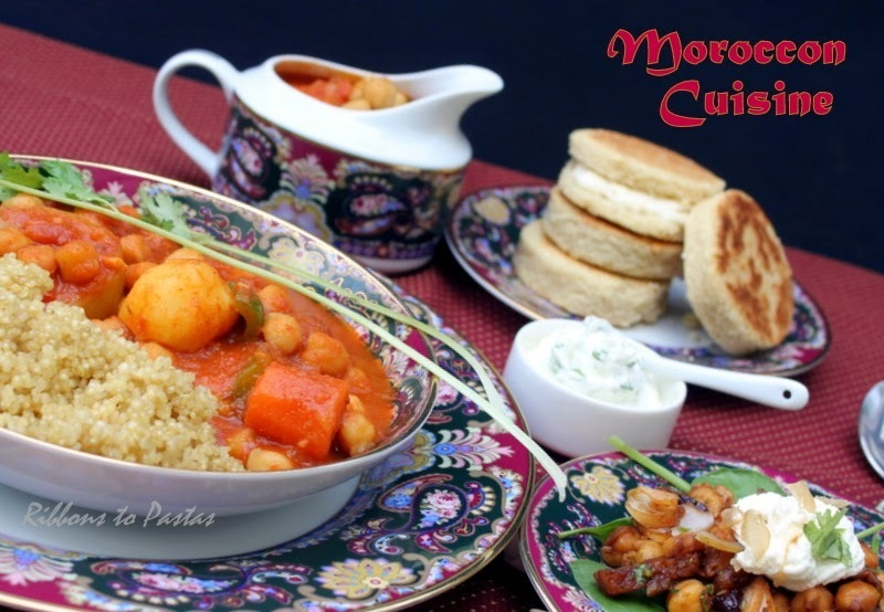 Moroccan Meal with Curry