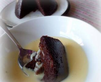 Marmalade Pudding with a Grand Marnier Custard