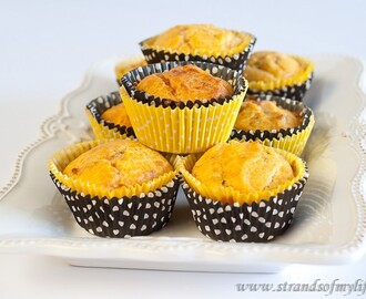 Sweet Potato and Cheese Muffins – gluten-free and low FODMAP