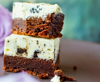Oreo ostebrownie