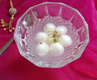 Rasgulla -Famous Bengali Sweet | Indian Sweet Recipe