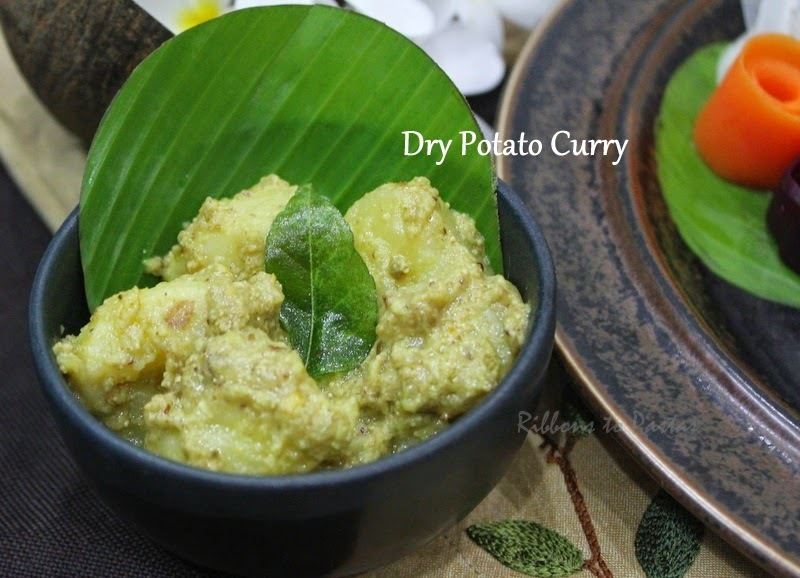 Sri Lankan Dry Potato Curry