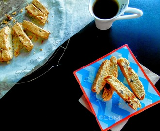 Healthy sugar free Biscotti made up of Oats ,apricots and plums