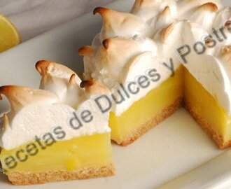 RECETA DE PIE PAY DE LIMON