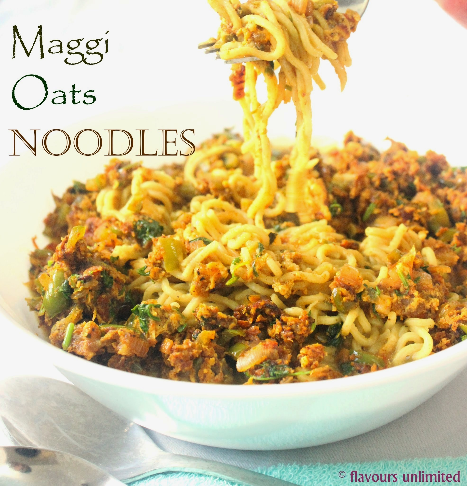 Maggi Oats Noodles - We all love our 2 minutes noodles