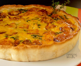 Quiche de Enchidos
