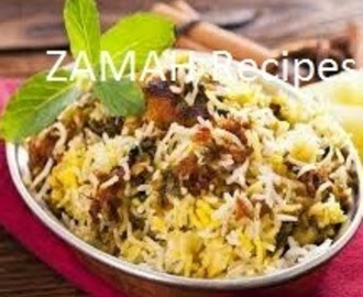Hyderabadi Dum ki Chicken Biryani Recipe