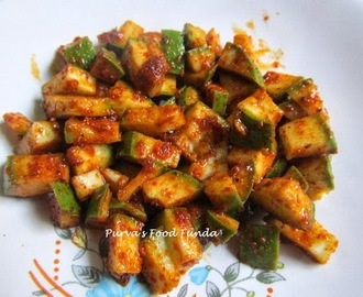Karmat (Instant and Easy Mango Pickle)
