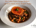 Slow Cooker Chicken Orange Chickpeas with Sweet Potato Sesame Teriyaki Noodles