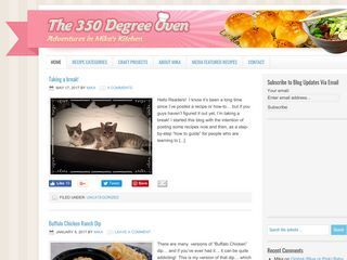 The 350 Degree Oven