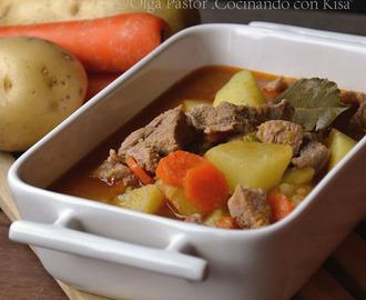 Recetas de receta guiso carne con zanahorias patata y - Guiso de carne de cerdo ...