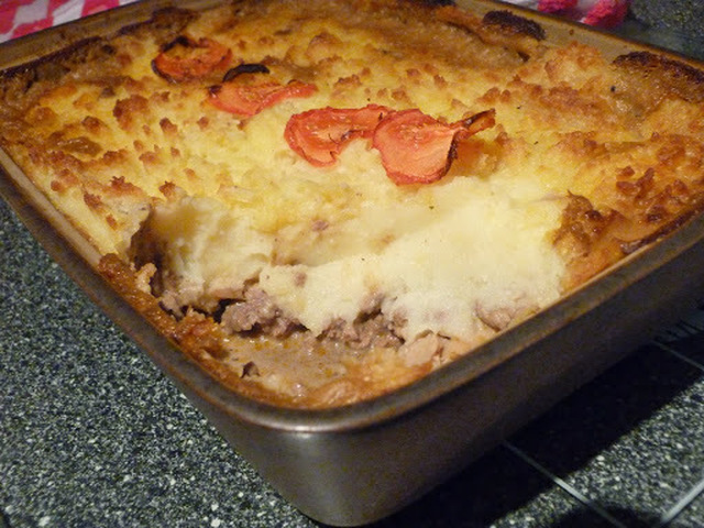 Posh Peppercorn Cottage Pie