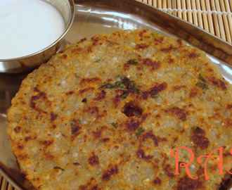 Sabudana Thalipeeth Recipe - Navratri Recipe