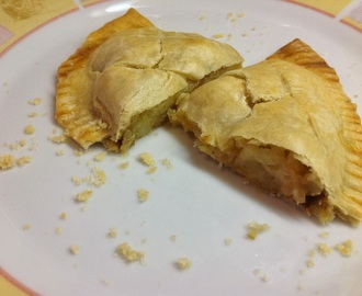 Cheddar Cheese and Caramelised Onion Pasty