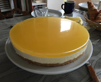 Appelsin cheesecake