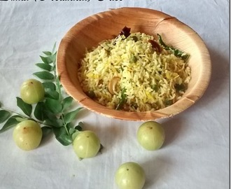 Nellikai Sadam(Amla Rice)-Navarathri Recipes(Day 3)