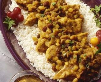 Garbanzos al curry rapidos