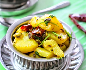 Chilli Stir Fried Potatoes