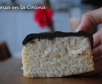 Angel Food Cake con Chocolate
