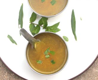 KEERAI THANDU SOUP | SPINACH STEM SOUP | CLEAR SOUP RECIPES