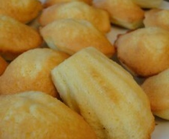 Madeleines avec une belle bosse au thermomix